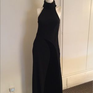 Camilla & Marc long black evening gown